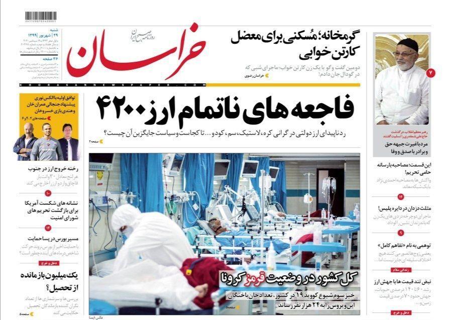 روزنامه امروز خراسان
