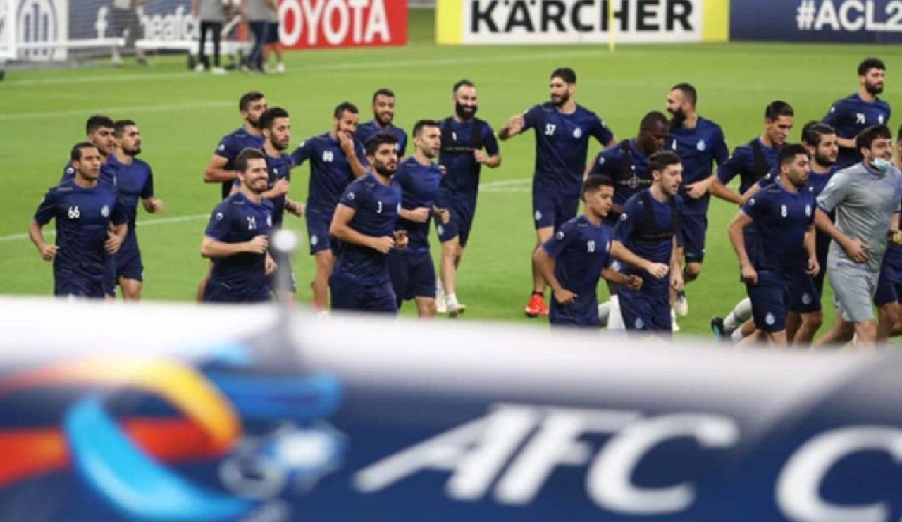 گزارش تمرین استقلال در دوحه