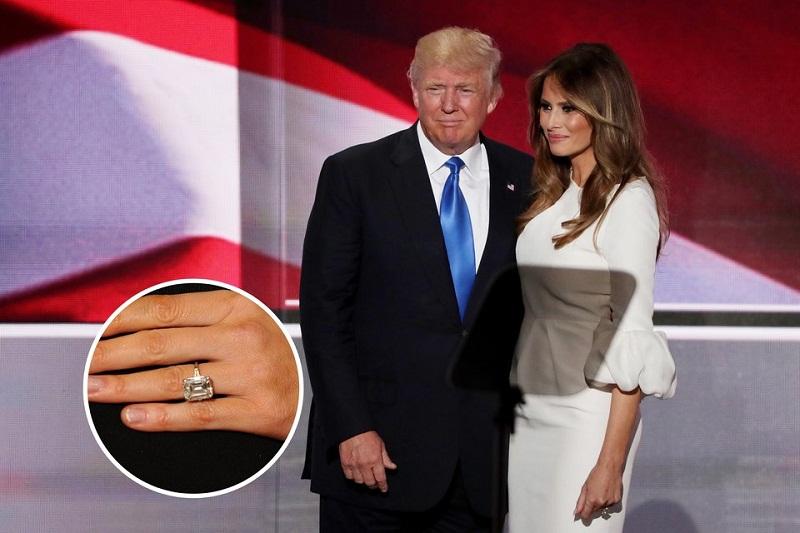 ملانیا ترامپ، همسر سوم دونالد ترامپ