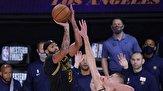 """پلی آف لیگ بسکتبال NBA/ """"لیکرز"""" به فینال نزدیک شد"""