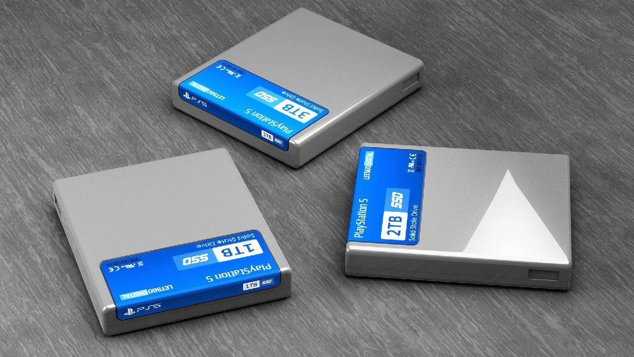حافظه SSD کنسول PS5