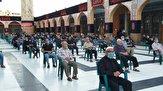 مراسم عزاداری شب هشتم محرم در حرم حضرت زینب(س) برگزار شد