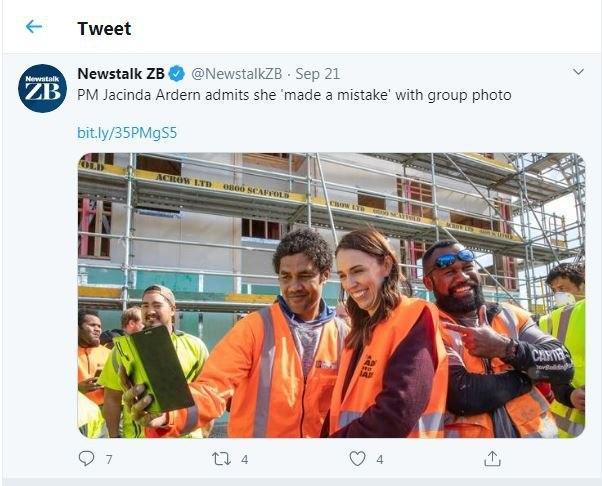 عذرخواهی نخست وزیر نیوزلند