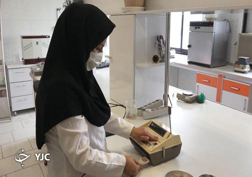 آزمایشگاه موسسه تحقیقات برنج کشور