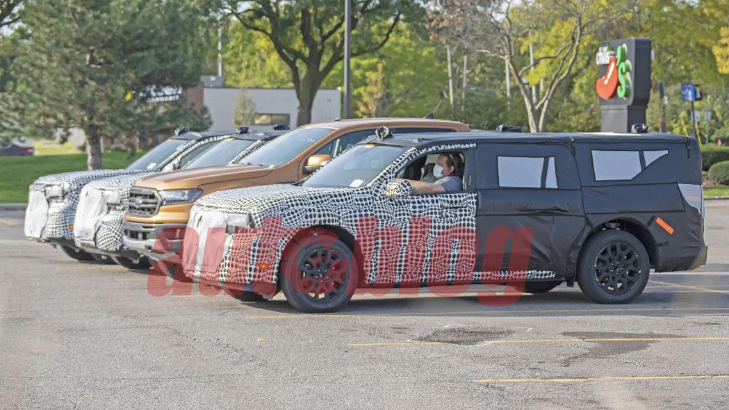 شباهت سیستم تعلیق Ford Maveric به اتومبیل Ford Transit Connect