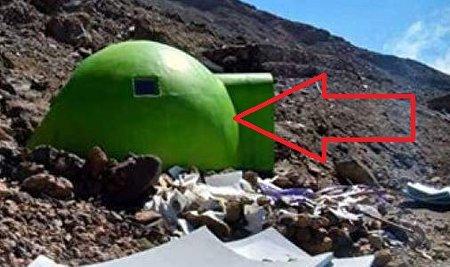ماجرای شیء عجیب شبیه تخم اژدها در کوه دماوند چیست؟