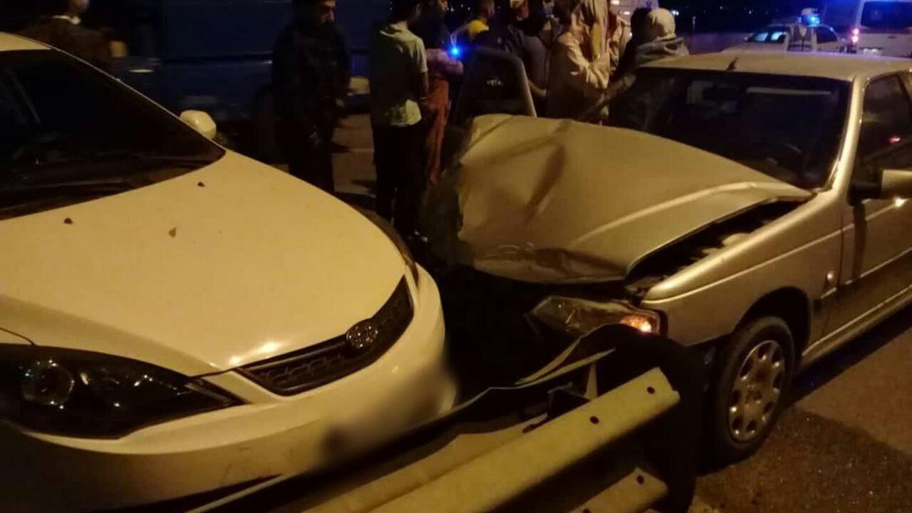 ۷ مصدوم در پی حادثه رانندگی در گلستان