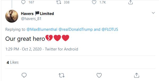 خبرنگار آمریکایی با عکس شهید سلیمانی پاسخ توییت ترامپ را داد