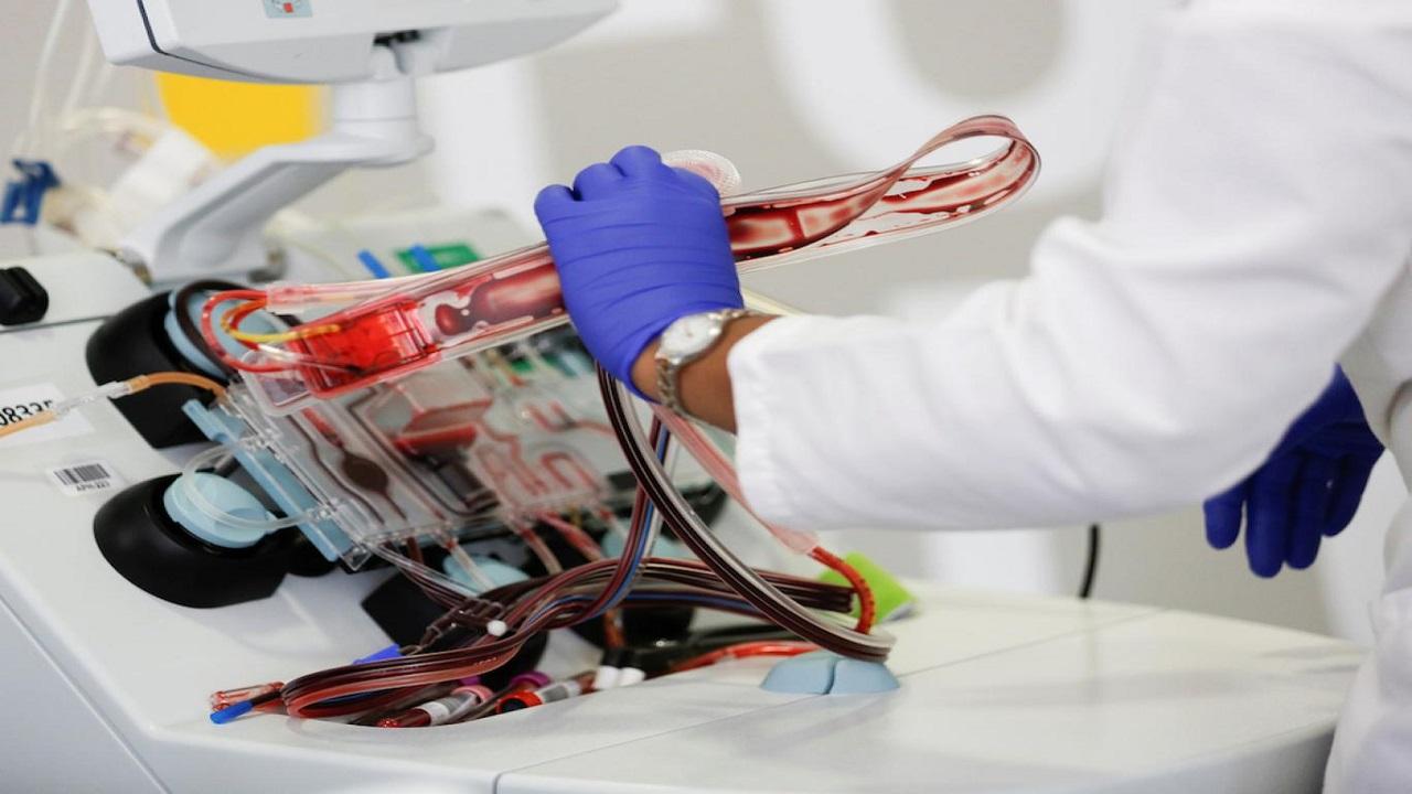 اهدای پلاسما خون