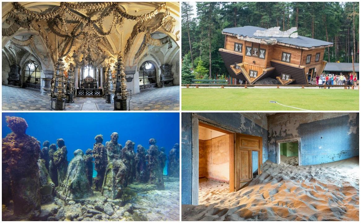 ۱۰ مقصد عجیب گردشگردی در جهان