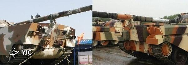 کدام تانک ایرانی قابلیت دور در جا را دارد؟