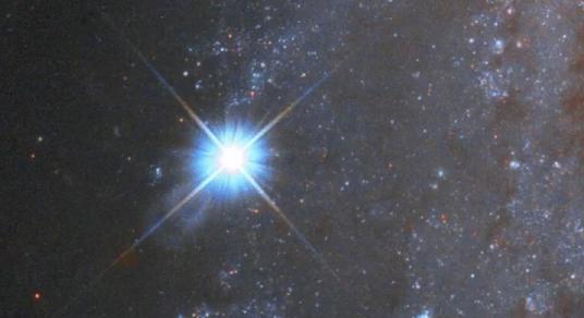 رصد انفجار مرگبار یک ستاره در فاصله ۷۰ میلیون سال نوری توسط تلسکوپ هابل ناسا