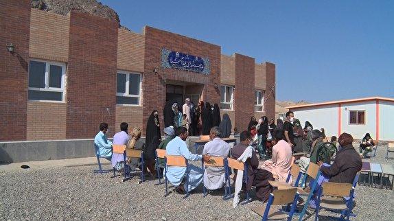باشگاه خبرنگاران - تلاشی دیگر از گروه جهادی لشکر ویژهی شهدا خراسان جنوبی در نقاط مرزی شهرستان نهبندان