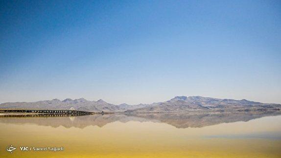 باشگاه خبرنگاران -کاهش آب دریاچه ارومیه طبیعی است/ تراز آب به بالاتر از آب های آزاد رسید