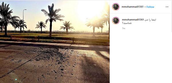 تصویری جدید از محل شهادت حاج قاسم سلیمانی در بغداد