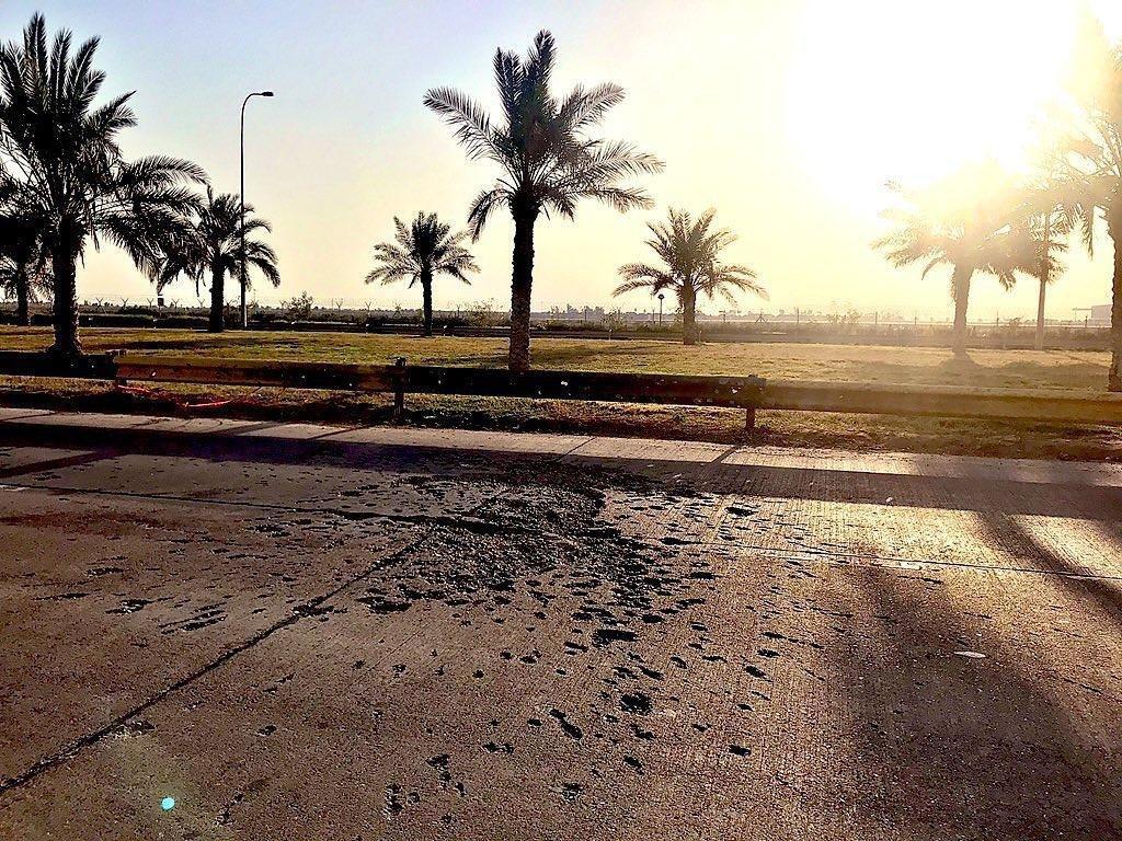 تصویری جدید از محل شهادت حاج قاسم سلیمانی در بغداد + عکس