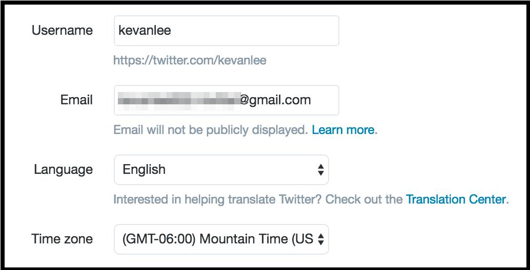 اهمیت تائید شماره تماس و ایمیل در توئیتر