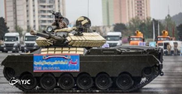 تانکی که چشم تیزبین ایران در میدانهای نبرد فرامنطقهای است + تصاویر