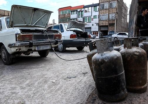 استفاده خودرو ها از گاز مایع