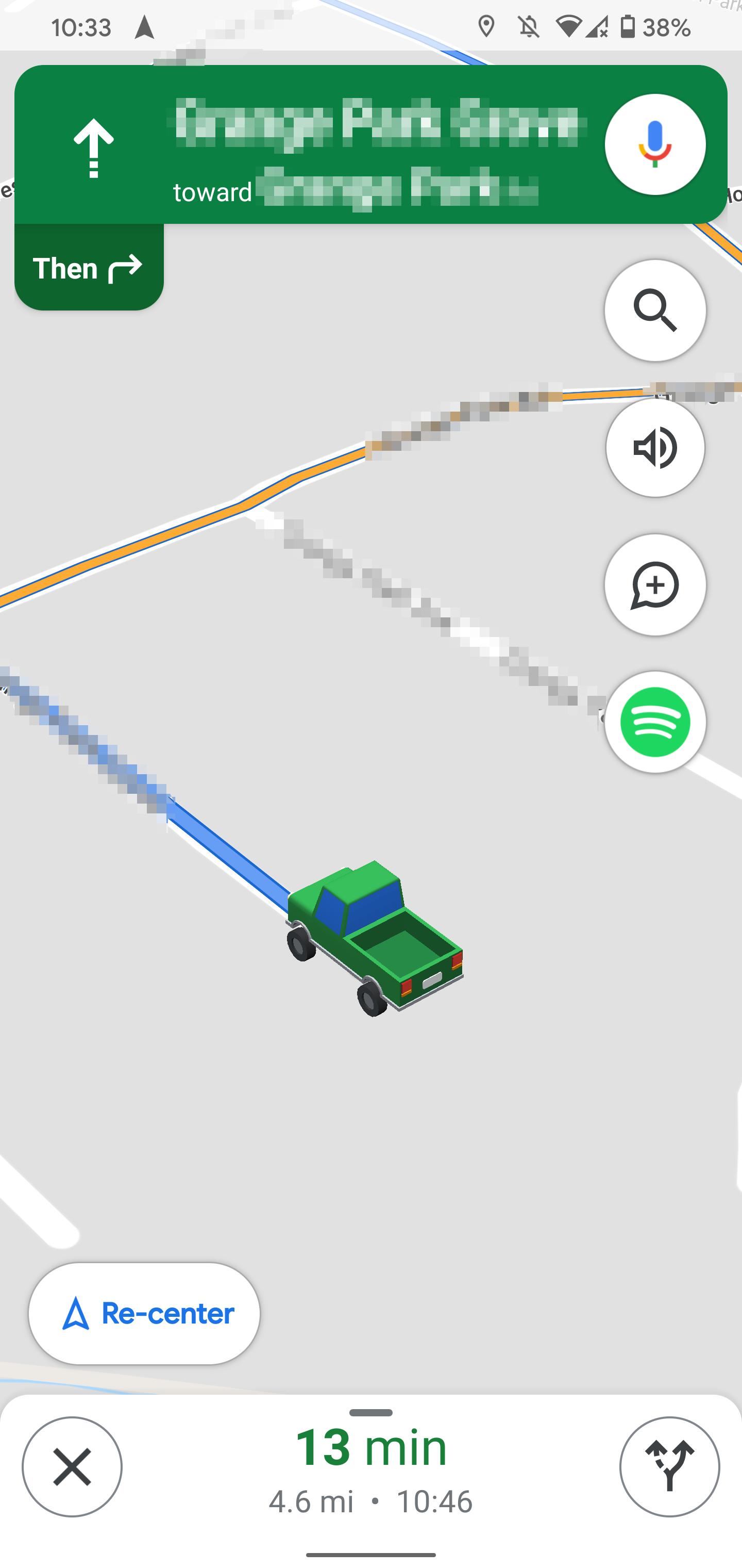 امکان تغییر خودرو در برنامه گوگل مپ
