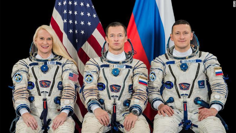 اعزام موفقیت آمیز سه فضانورد به ایستگاه فضایی بین المللی