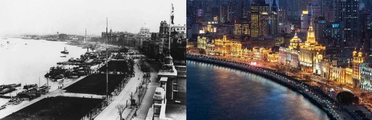 آن زمان و اکنون:عکسهایی باور نکردنی از گذشته و حال برخی از شهرهای جهان