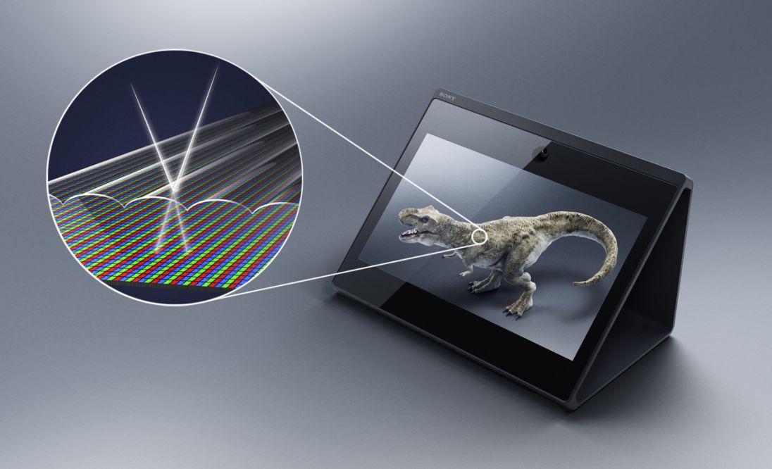 نمایش محتوای ۳ بعدی را بدون عینک با نمایشگر SR Display سونی