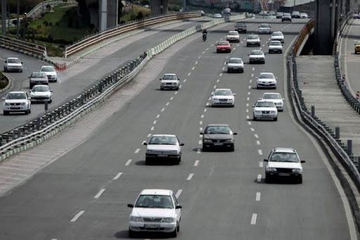 تردد خودرو در جاده های همدان کاهش یافت