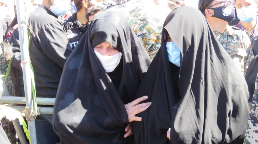 مراسم تشییع شهید حسنی سعدی در کرمان