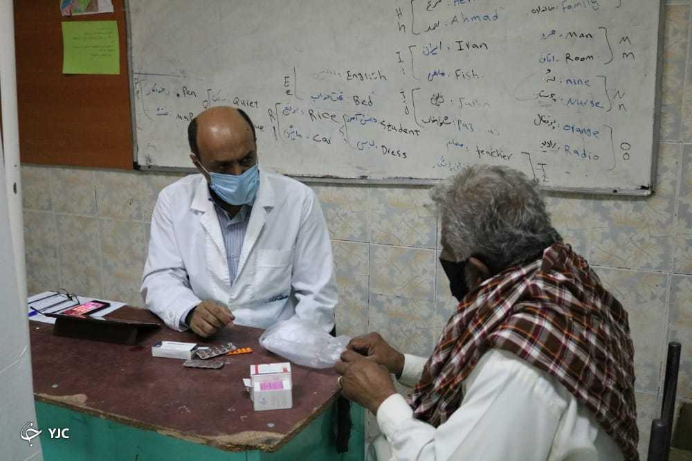 اعزام تیم پزشکی خیریه به بخش جازموریان