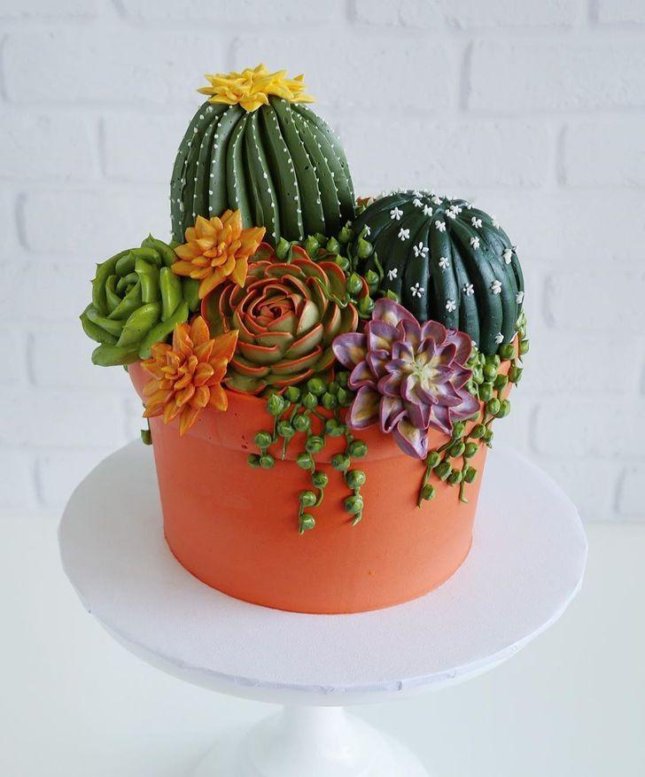 باغ گل مصنوعی یا خوراکی + عکس