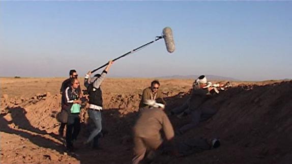 """باشگاه خبرنگاران - ساخت فیلم """"خواب خاکستری"""" در بویین زهرا + تصاویر"""