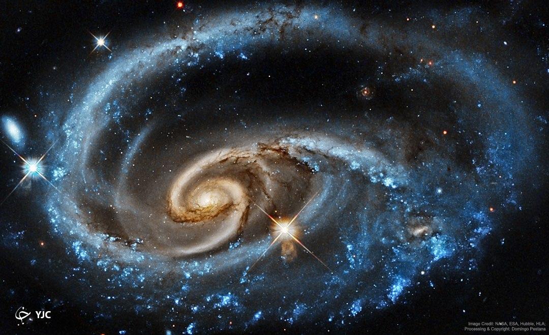 تصاویر چشم نواز ناسا از سحابیها و اجرام اسمانی