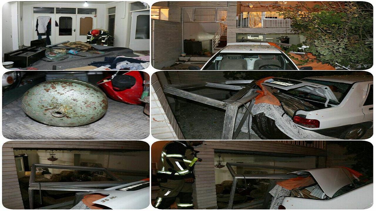 انفجار در یک منزل مسکونی در قزوین