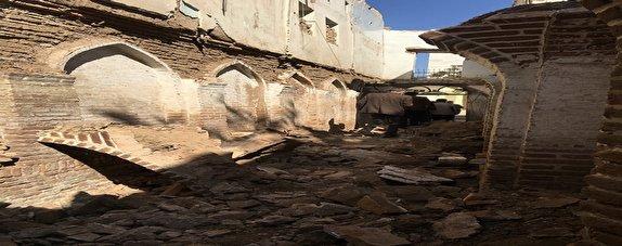 باشگاه خبرنگاران - تخریب ساباط ثبت شده تاریخی در قزوین/ پیگرد قضایی عاملان تخریب