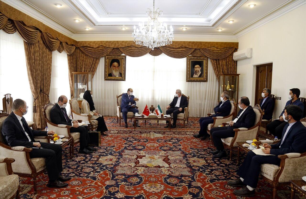 تاکید بر توسعه روابط ایران و ترکیه