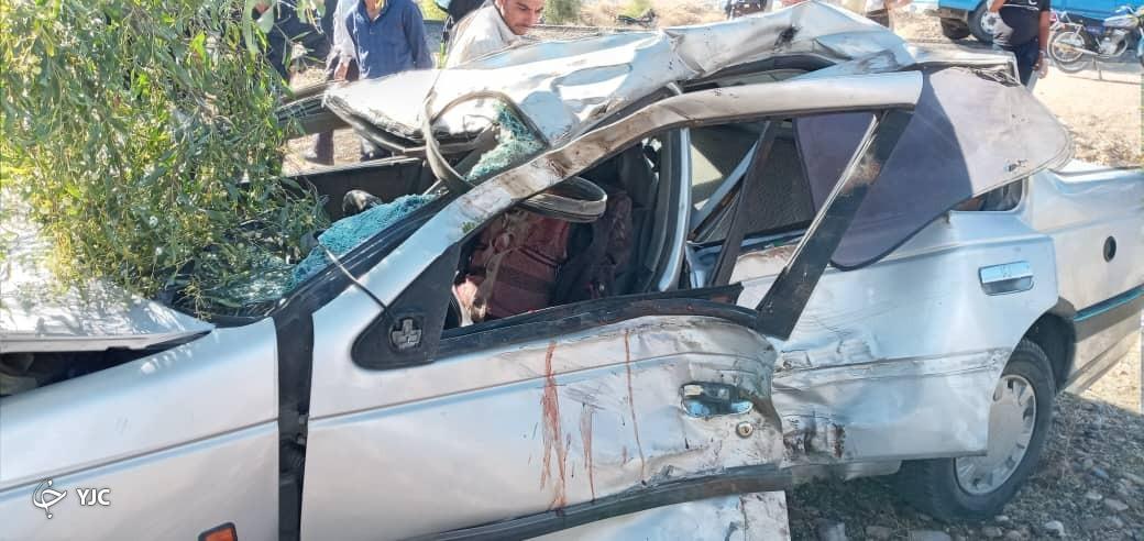 حادثه رانندگی در جاده فسا - شیراز