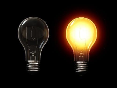 برق مجانی، به شرط روشن کردن یک لامپ!