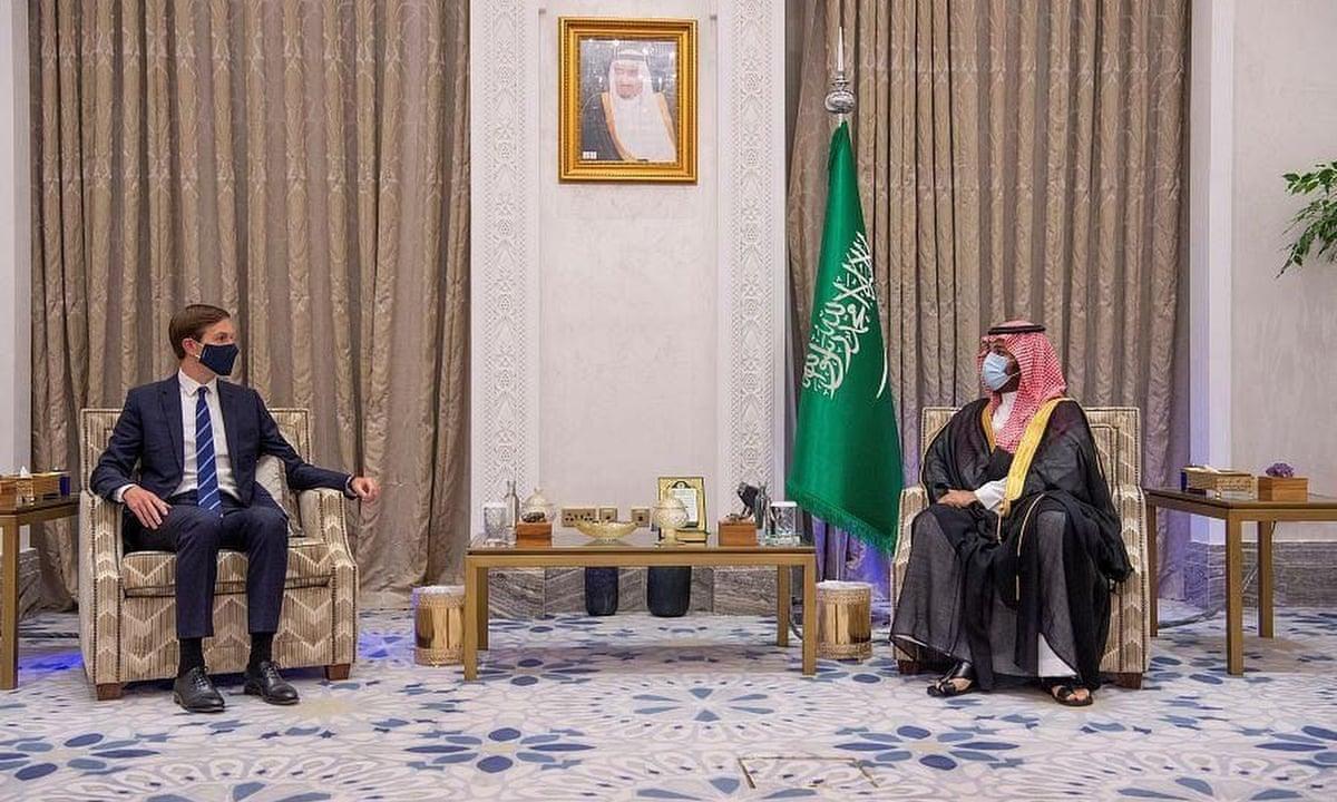 گاردین: وارث تاج و تخت سعودی و کوشنر، عربستان را به سوی توافق با اسرائیل سوق میدهند