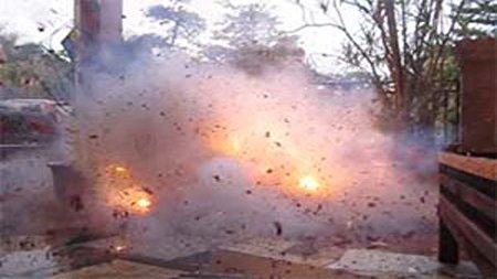 مرگ زن تهرانی در انفجار نارنجک مرموز زیر پایش! + عکس