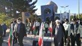 باشگاه خبرنگاران -عطر افشانی و گلباران قبور مطهر شهدا در کوهبنان