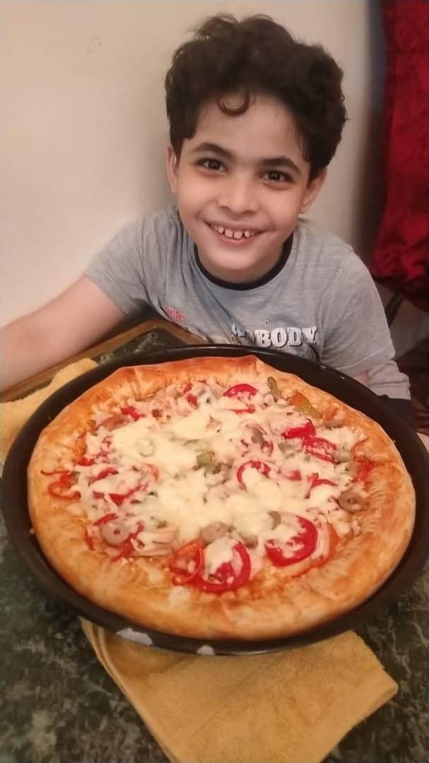پسر بچهای که کوچکترین سرآشپز مصر است