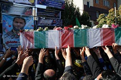 تشییع شهید امر به معروف «محمد محمدی»