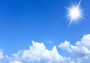 ثبات دمای هوا در استان همدان