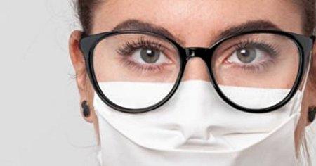 ۴ ترفند برای حل معضل بخار ناشی از ماسک برای عینکیها