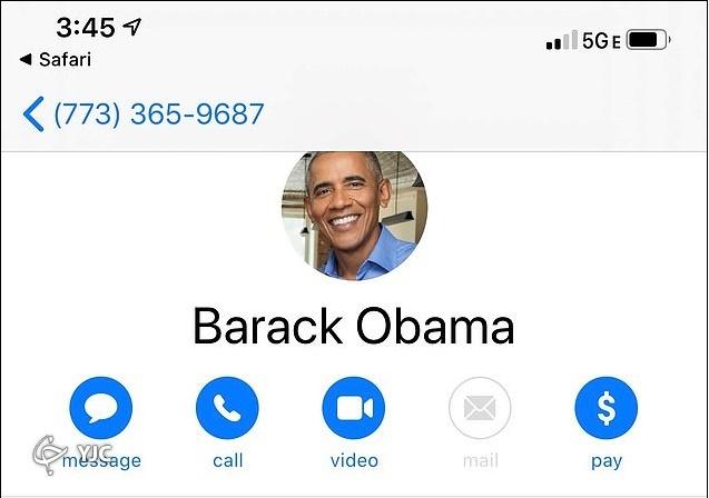 اوباما: برایم پیامک بفرستید + تصاویر