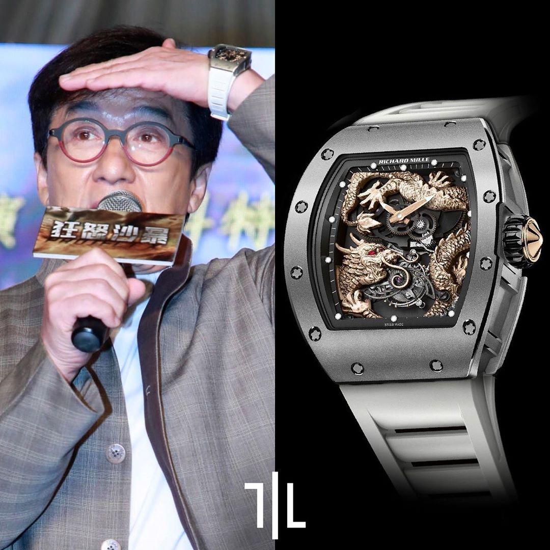 ساعت گران جکی چان