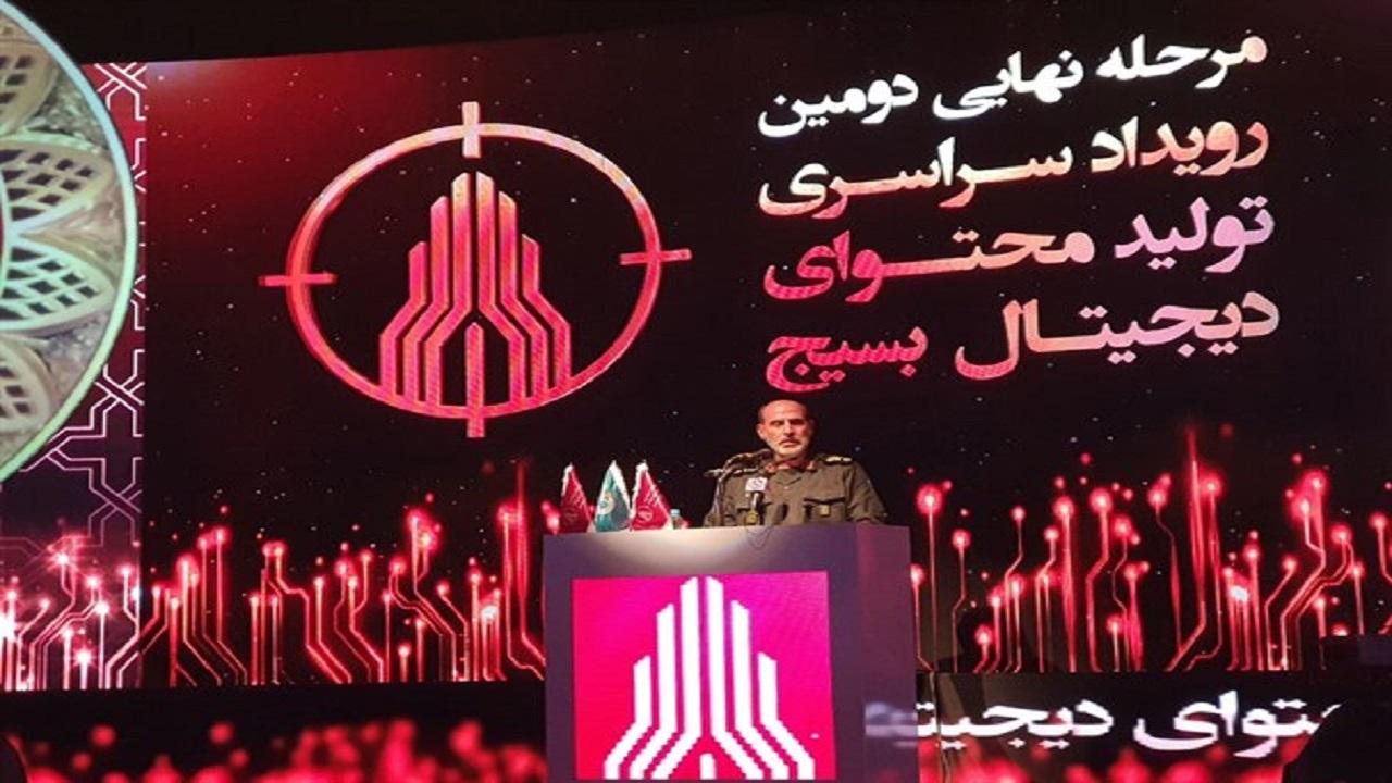 سردار سپهر: عرصه جنگ نرم را خالی نمیکنیم / مسئولان کشور افسران جنگ را یاری کنند