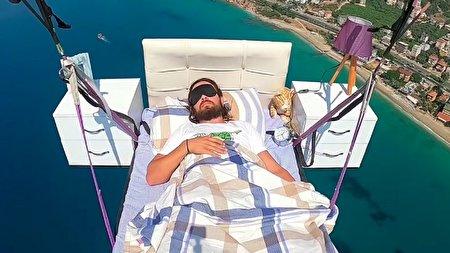تخت خواب پرنده مرد ترکیهای خبرساز شد