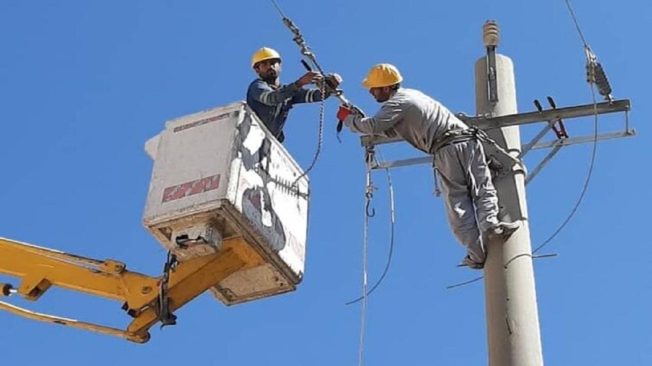 بهره برداری از پروژه برق رسانی